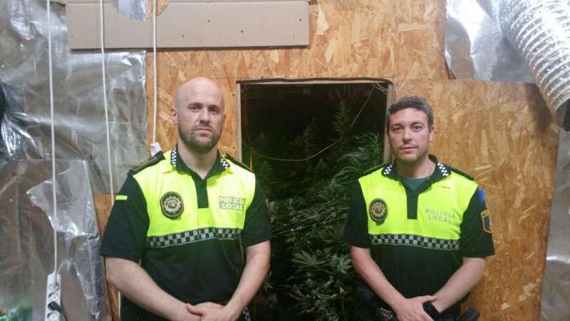 Patrulla de polícia local Beniparell