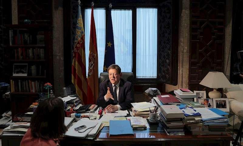 El president de la Generalitat y líder del PSPV, Ximo Puig. EFE/Manuel Bruque/Archivo