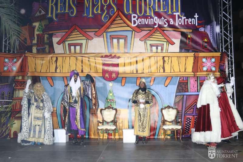 Los Reyes Magos en Torrent. EPDA