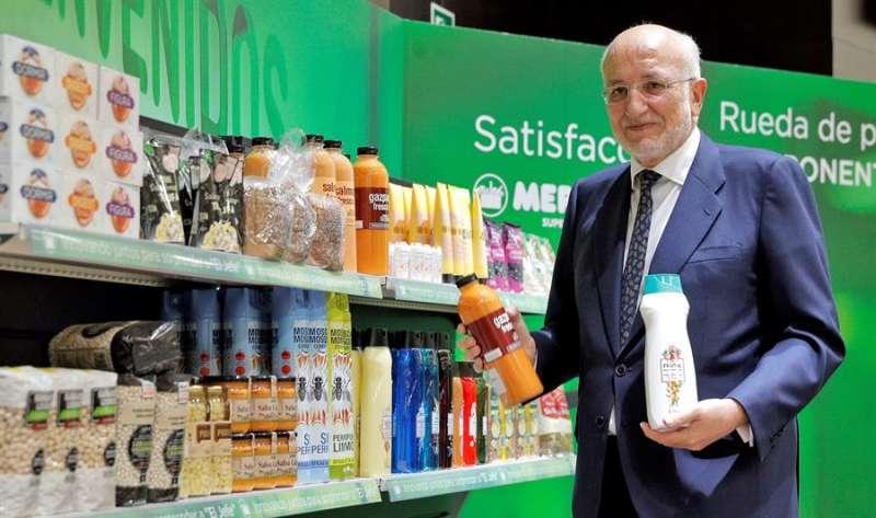 El presidente de Mercadona, Juan Roig. EFE