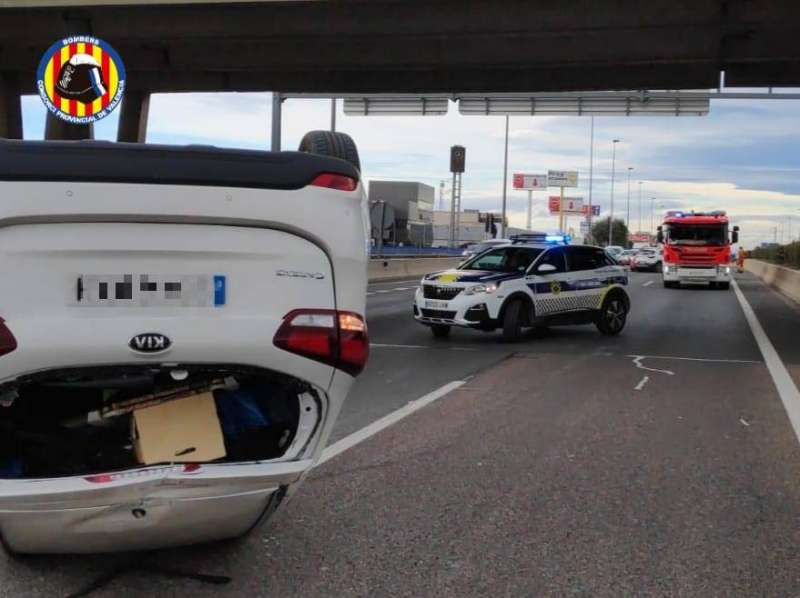 Vehículo implicado en el accidente
