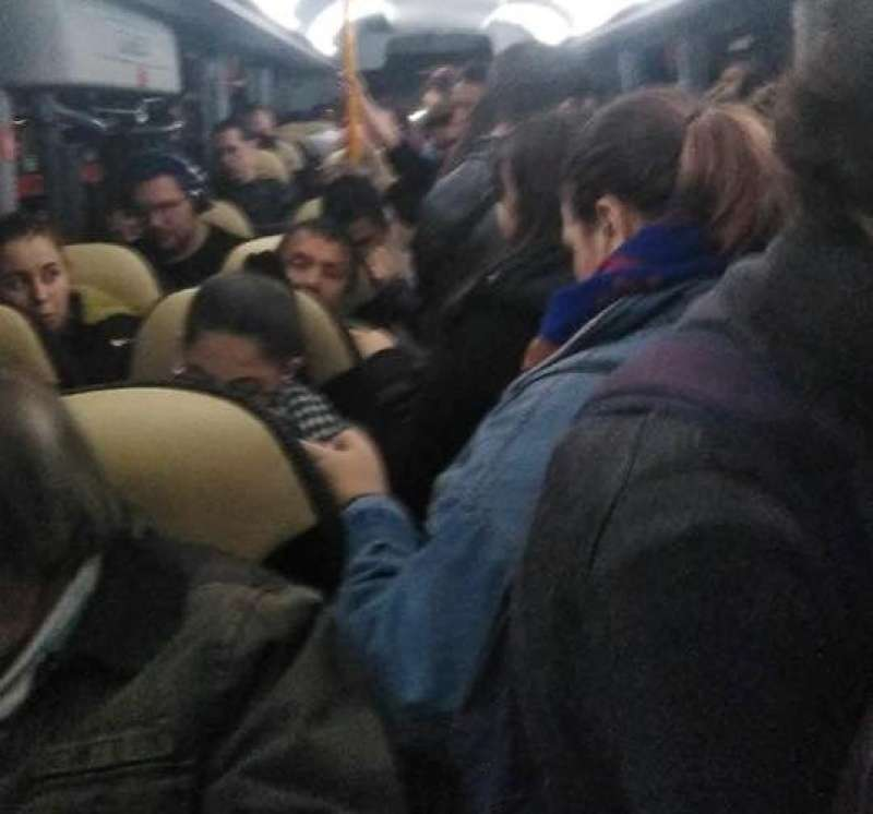 Interior de uno de los autobuses. EPDA