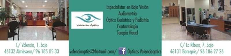 Centros ópticos de Almàssera y Bonrepòs.