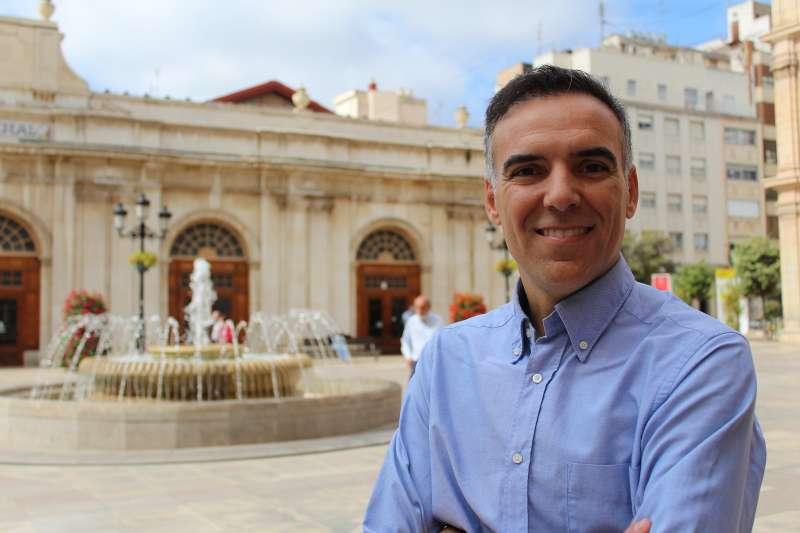 El portavoz de Ciudadanos (Cs) en Castellón,Alejandro Marín-Buck. -EPDA