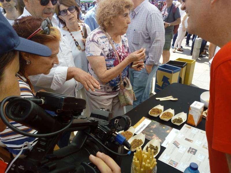 Drones, robots o rosquilletas de grillo creados en la UPV se exhiben en València