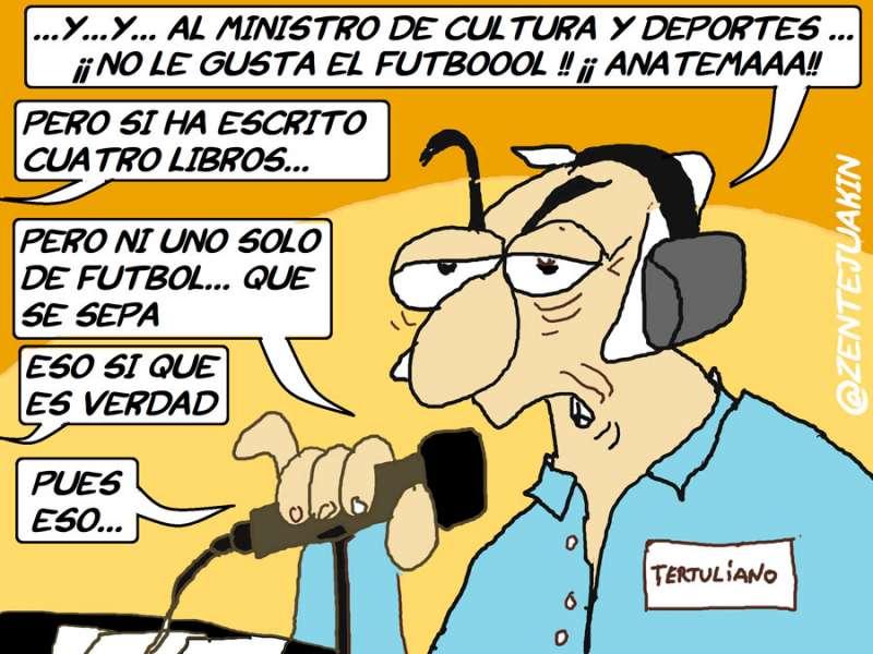 Viñeta de @Zentejuakin para www.elperiodicodeaqui.com