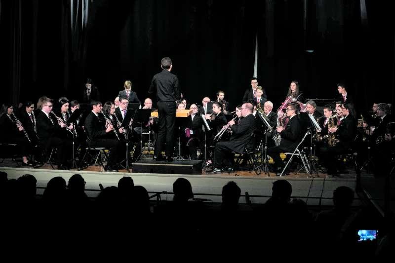 Concierto de la Unión Musical Porteña. EPDA