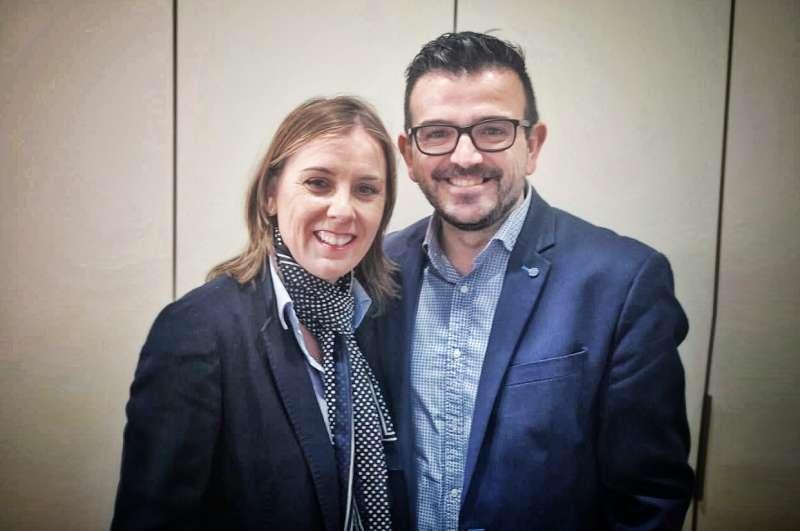 Cristina Arnau Zarzo con Bronchud