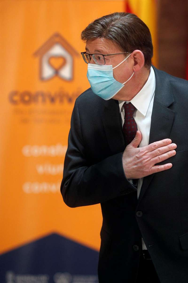 El presidente de la Generalitat, Ximo Puig, en una imagen de este jueves. EFE/Kai Försterling
