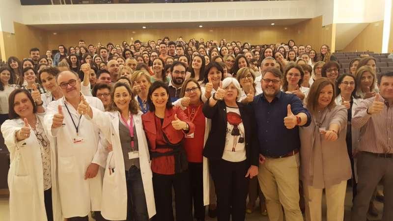 Montón destaca la firme apuesta por el empleo estable y de calidad en el sector de Enfermería