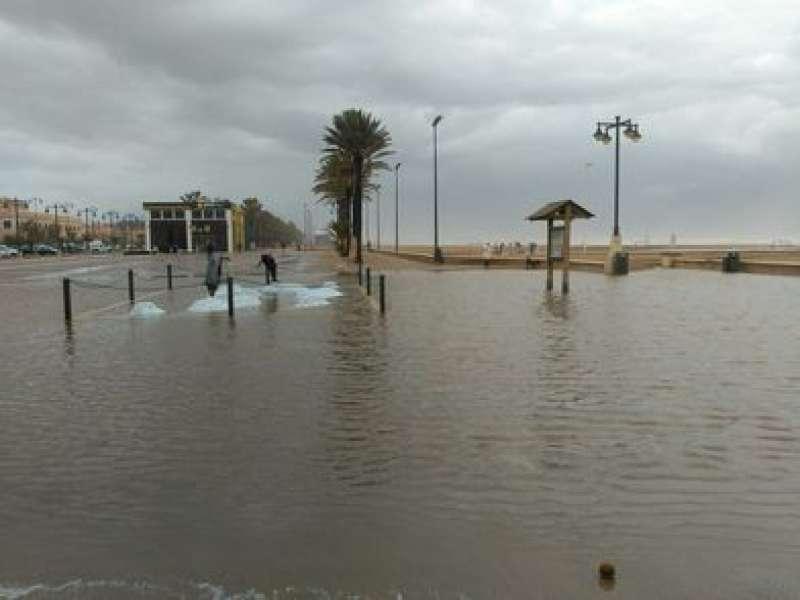 Playa Las Arenas de Valencia. EPDA