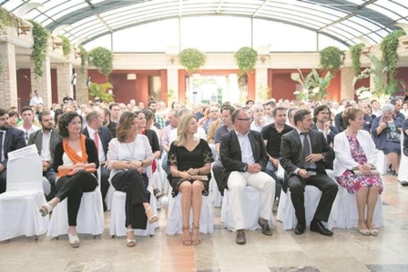 Edición anterior de los premios en El Huerto de Santa Maria. EPDA