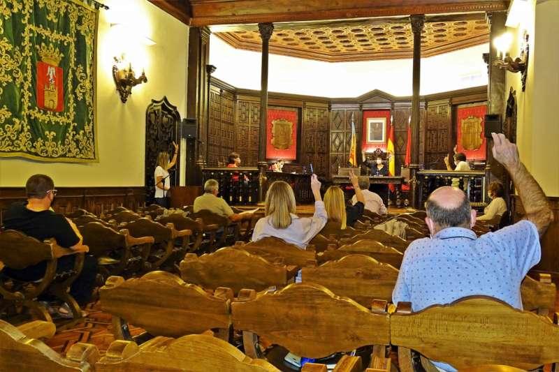 Sesión plenaria en Segorbe