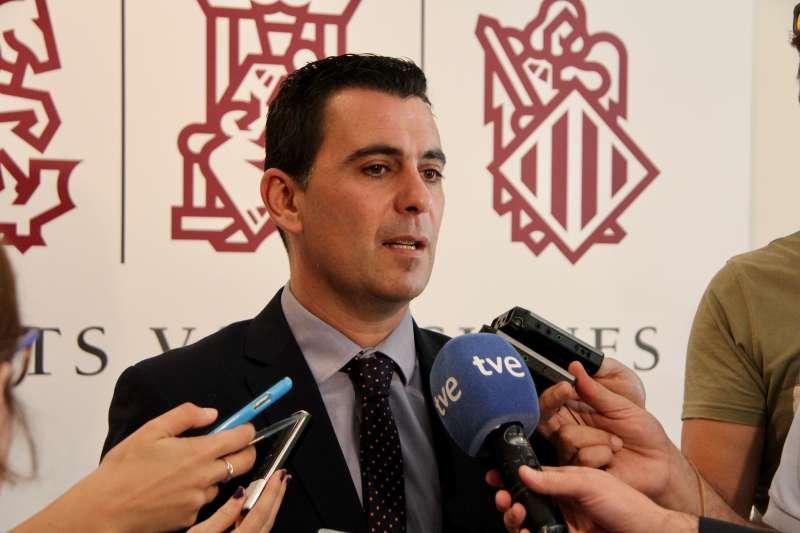 El diputado de Ciudadanos (Cs) en Les Corts valencianas Toni Subiela.