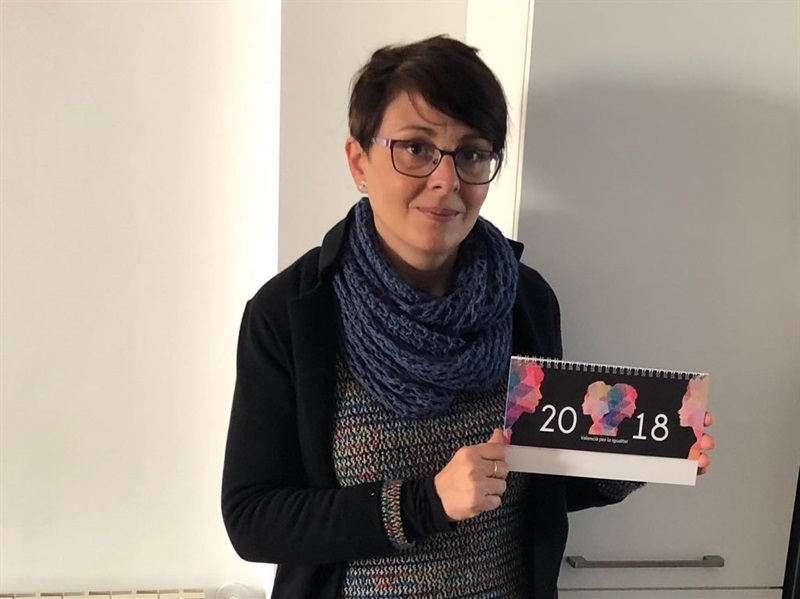 Regidora de Normalització Lingüística i Igualtat de Silla, Raquel Sánchez. EPDA