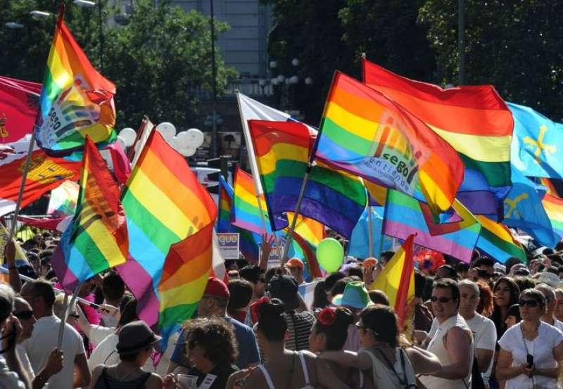 Manifestación LGTBI. EPDA