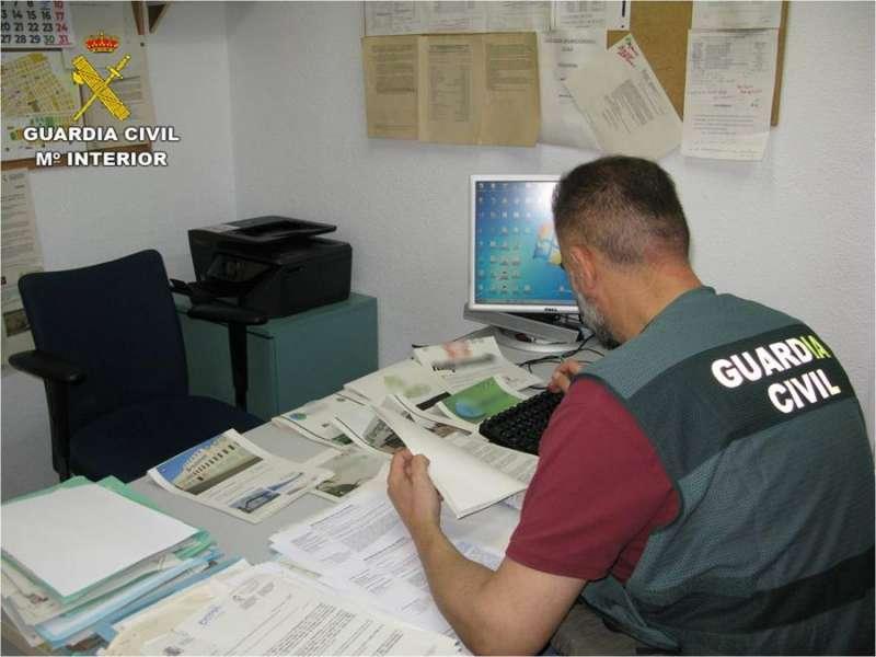 La operación ha sido desarrollada por la Guardia Civil. EFE