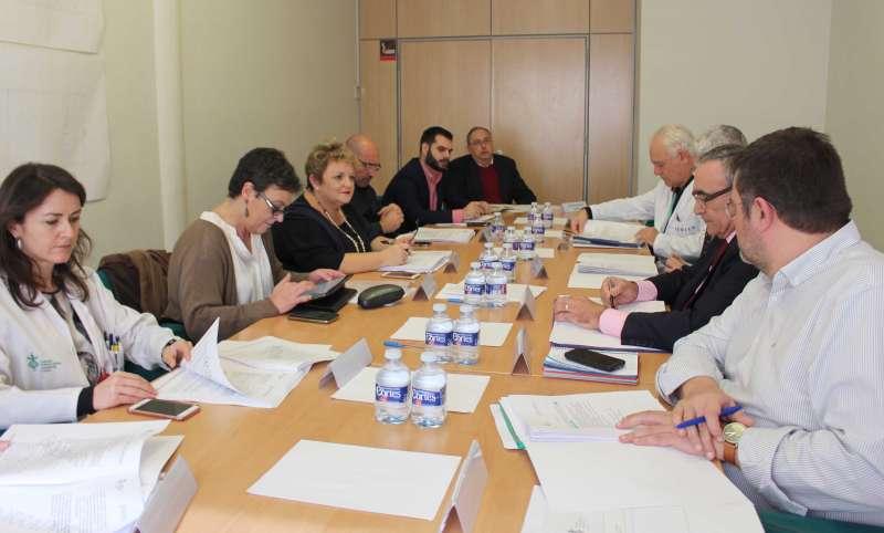 Consejo de gobierno del Hospital General. EPDA