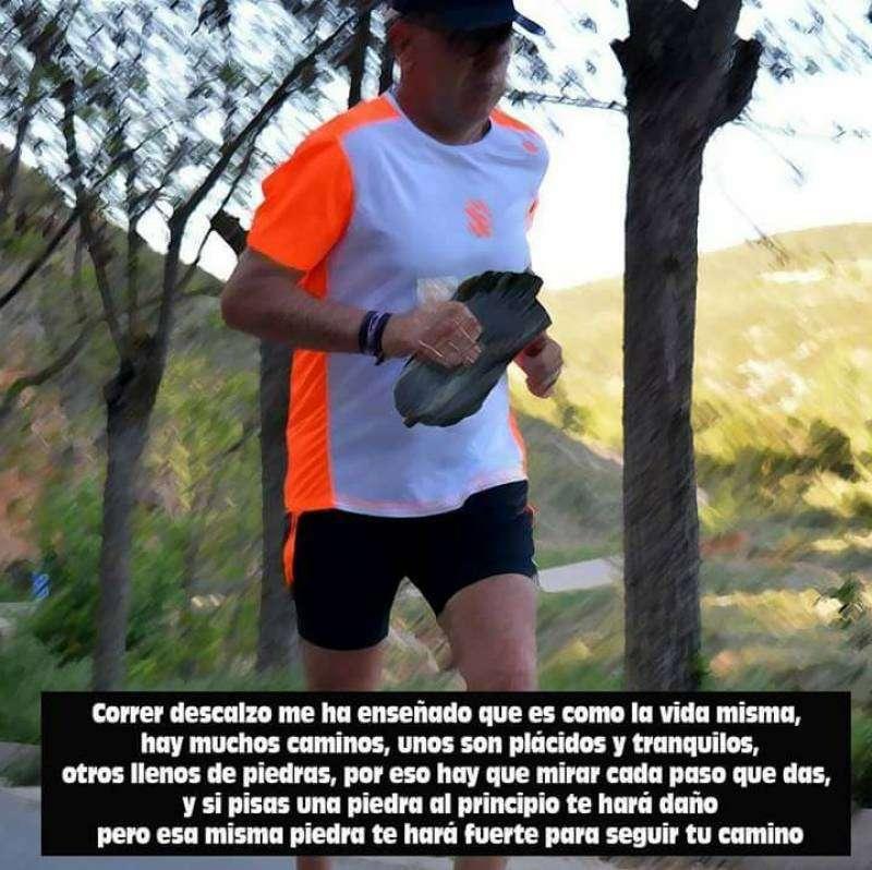 Juan Manuel Darijo, corredor con 59 años del municipio de Benaguasil.