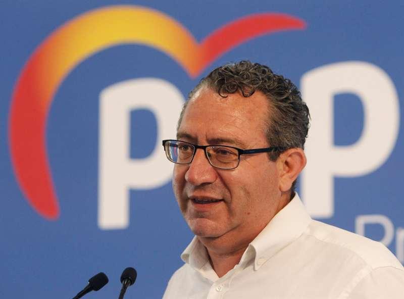 Pérez interviene tras ser elegido.