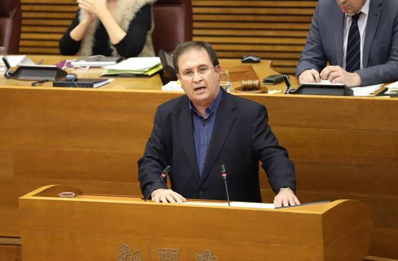 El portavoz adjunto de Ciudadanos (Cs) en Les Corts Valencianes, Juan Córdoba.