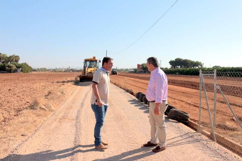 Acondicionamiento de caminos rurales en el municipio de Peñíscola.