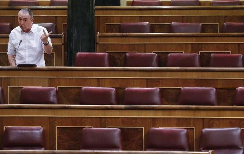 El diputado de Compromís, Joan Baldoví, en una imagen reciente. EFE/ Ballesteros