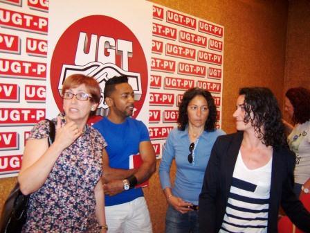 Grupo LGTB de la UGT-PV. Foto EPDA