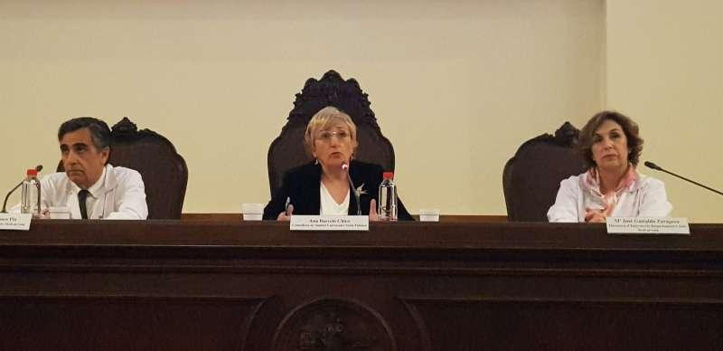 La consellera de Sanidad Universal y Salud Pública, Ana Barceló