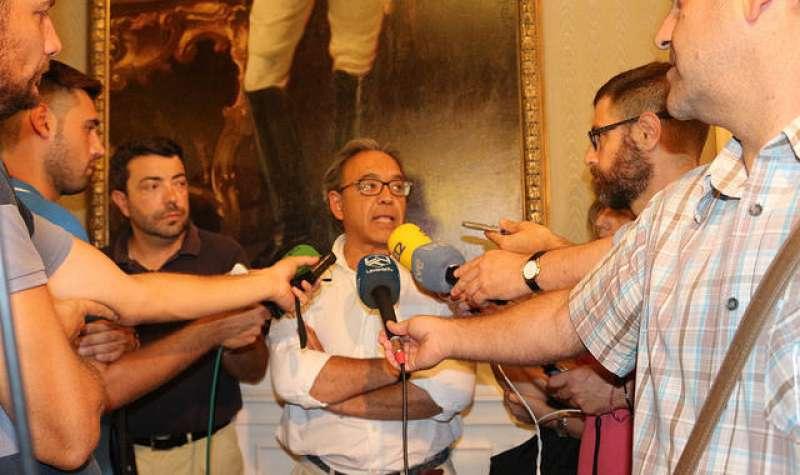 Manolo Mata, síndic del PSPV-PSOE en les Corts. FOTO PSPV-PSOE.NET