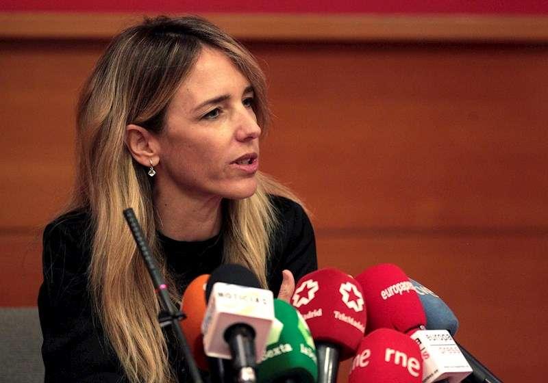 La portavoz del PP en el Congreso, Cayetana Álvarez de Toledo. EFE/Archivo