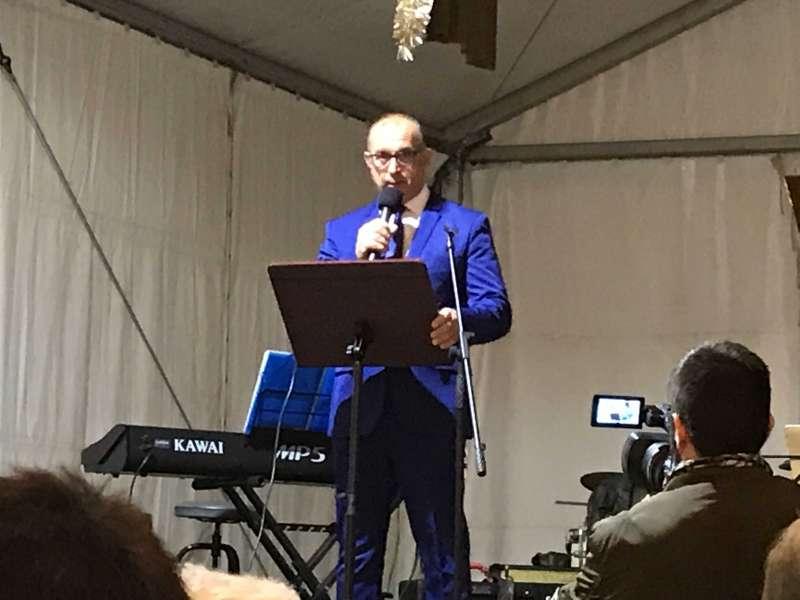 El alcalde, Juan Botella. EPDA