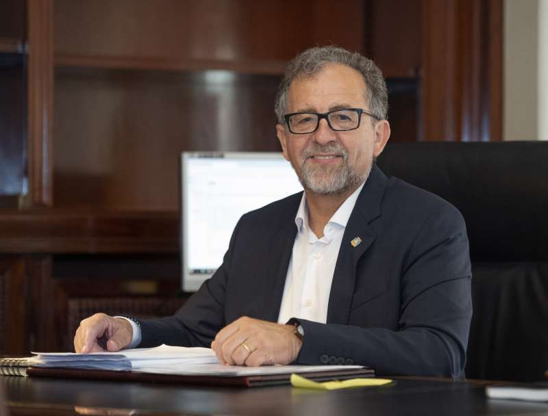El presidente de la Diputación de Castellón, José Martí. EPDA