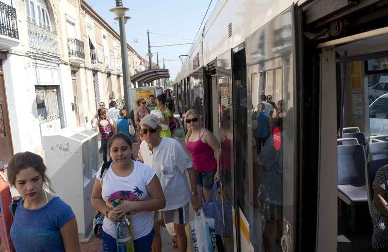 Parada de metro de Las Arenas