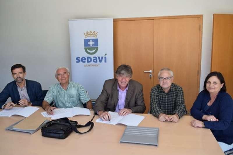 Signatura del conveni. EPDA
