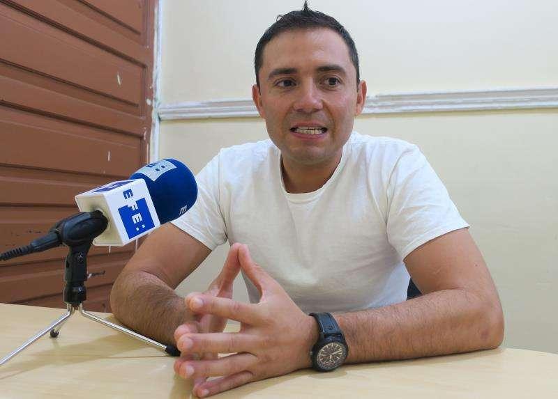 Jorge Fernández, el marido y presunto asesino de la española Pilar Garrido, en una entrevista con Efe en el penal de Ciudad Victoria, en el estado de Tamaulipas (México). EFE/Archivo