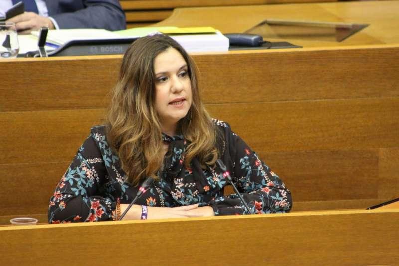 La diputada de Compromís, Mònica Álvaro
