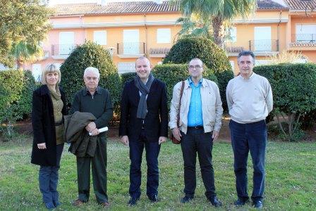 Encuentro los representantes socialistas del Camp de Morvedre en Estivella. Foto EPDA