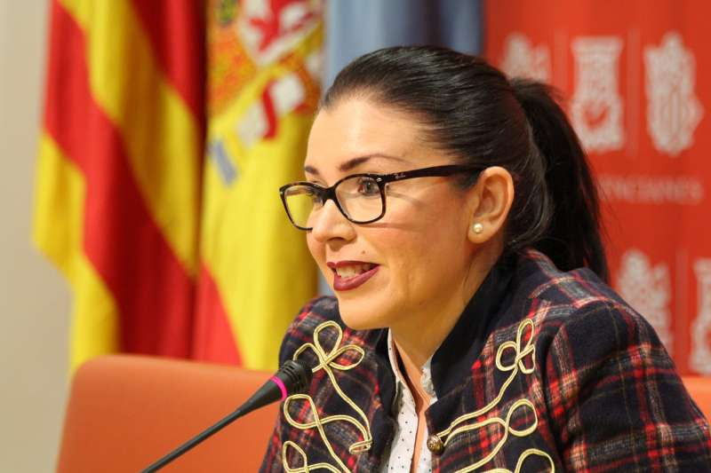 La síndica de Ciudadanos (Cs) en Les Corts Valencianes, Mari Carmen Sánchez