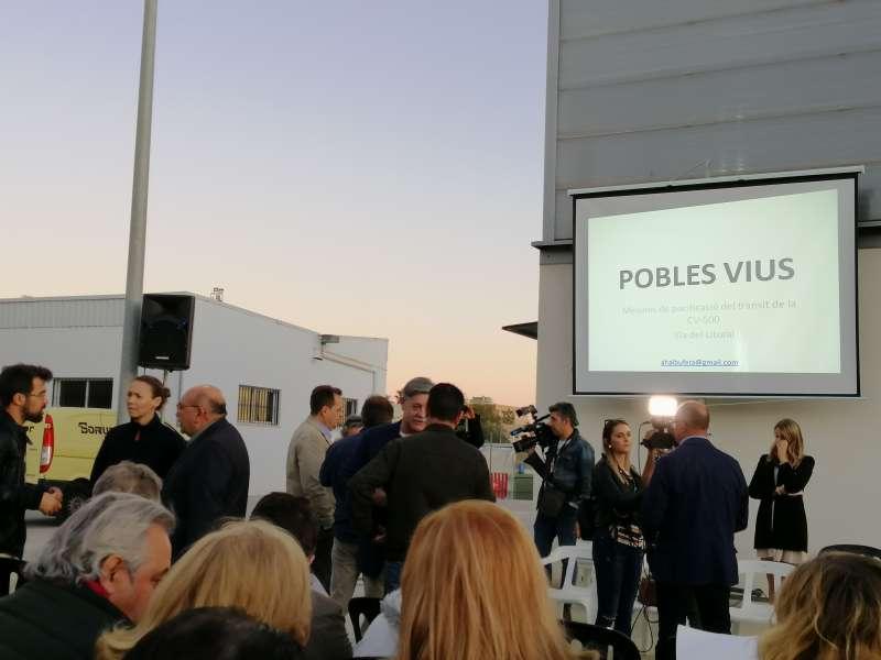 Asamblea vecinal Pobles Vius CV-500. VC