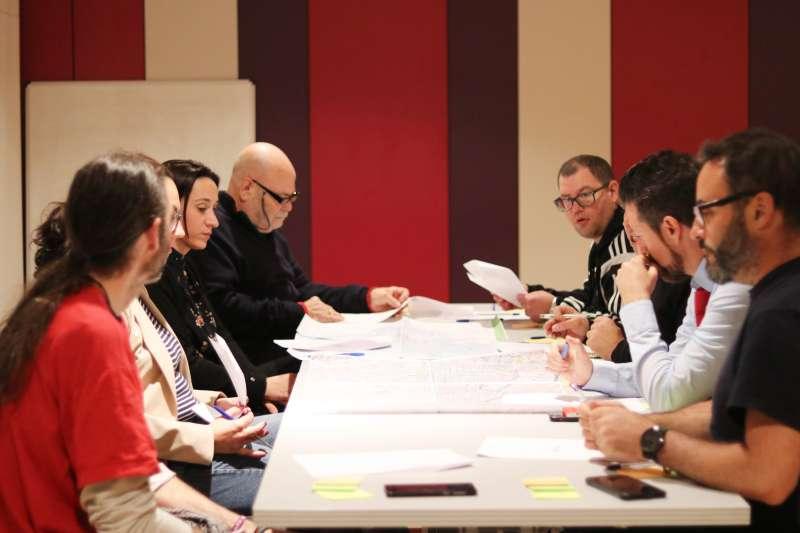 Reunión del Plan de movilidad. EPDA