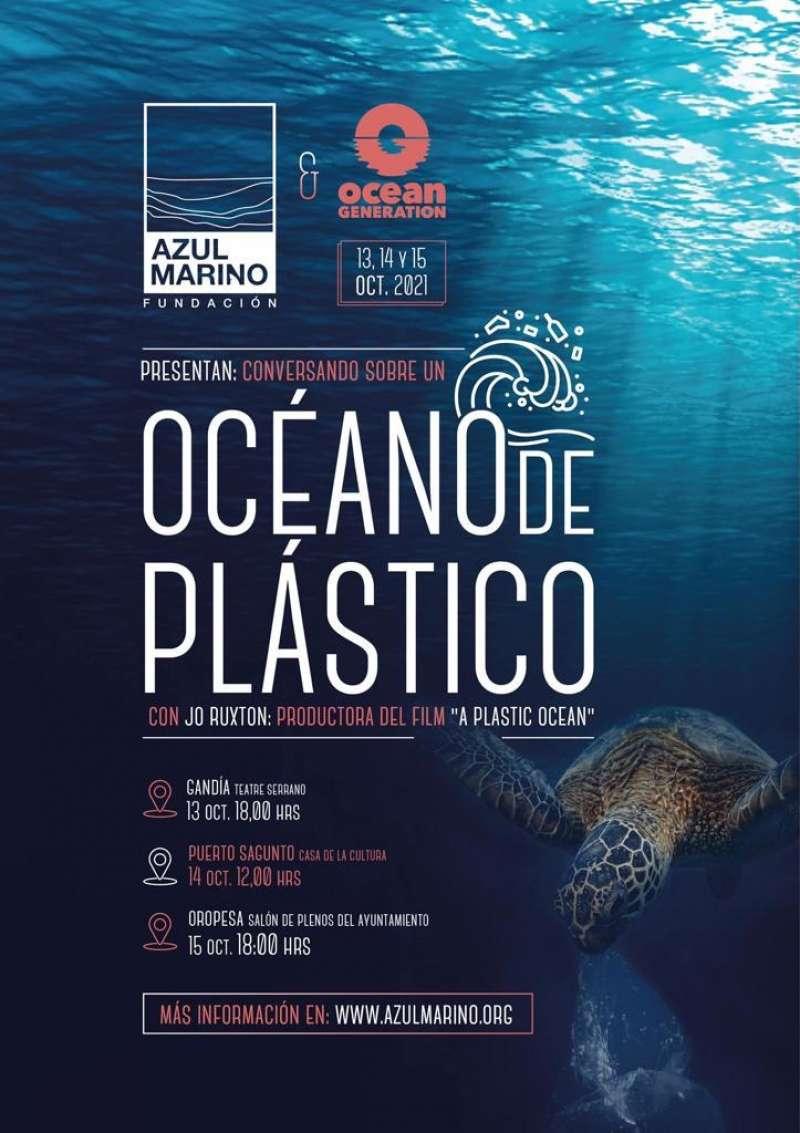 Cartel de Océano de Plástico. / EPDA