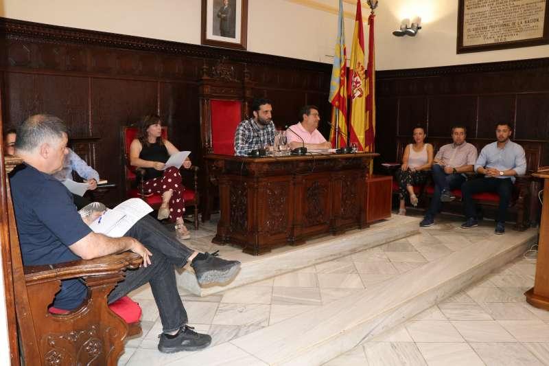 Pleno de las retribuciones de Sagunt. EPDA