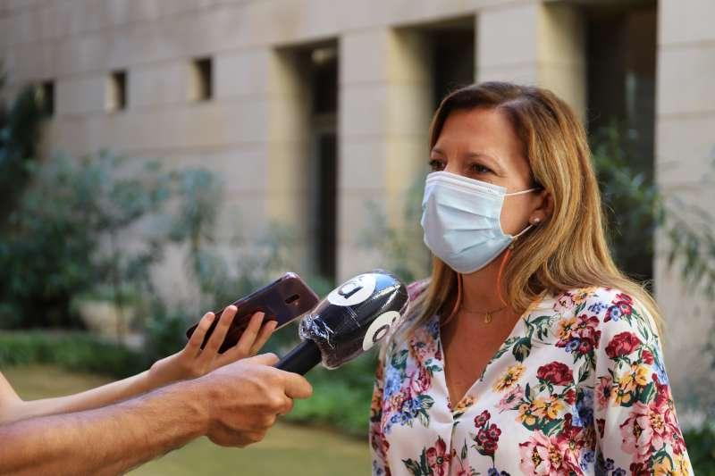 María Quiles, portaveu d