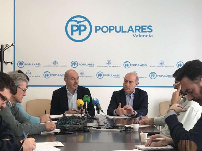 Eusebio Monzó durante la rueda de prensa
