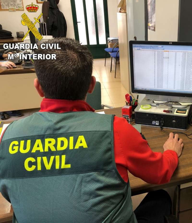 Guardia Civil de la investigación