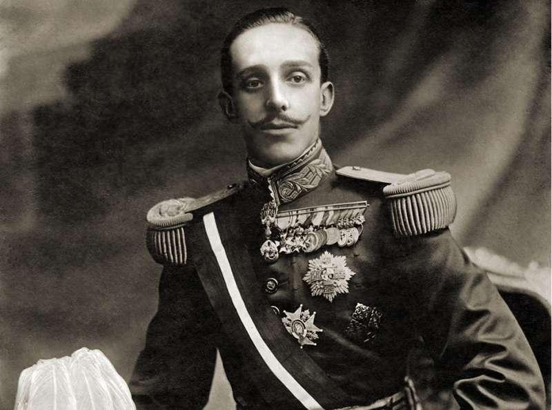 Retrato de Alfonso XIII. EFE/Archivo