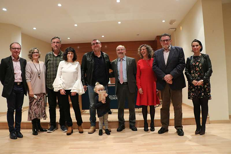 Foto de familia dels guanyadors. EPDA