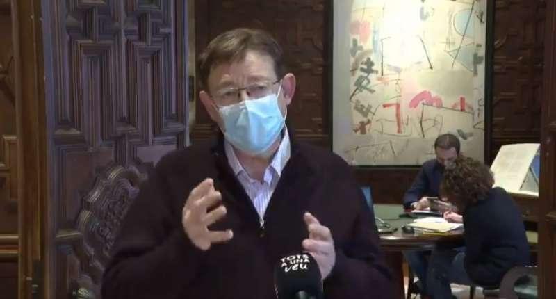 Ximo Puig desmiente en un vídeo el confinamiento