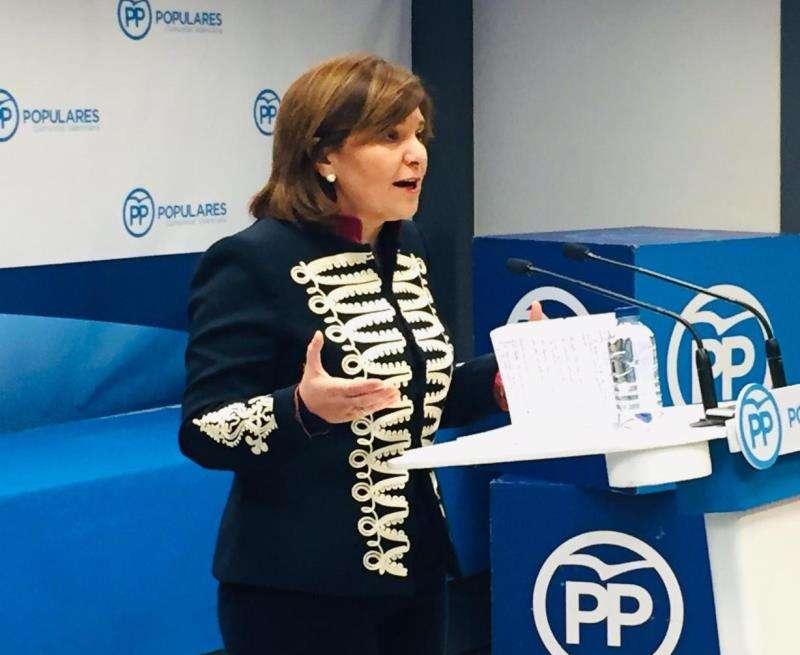 Imagen cedida por el Partido Popular de la presidenta del PPCV. EFE